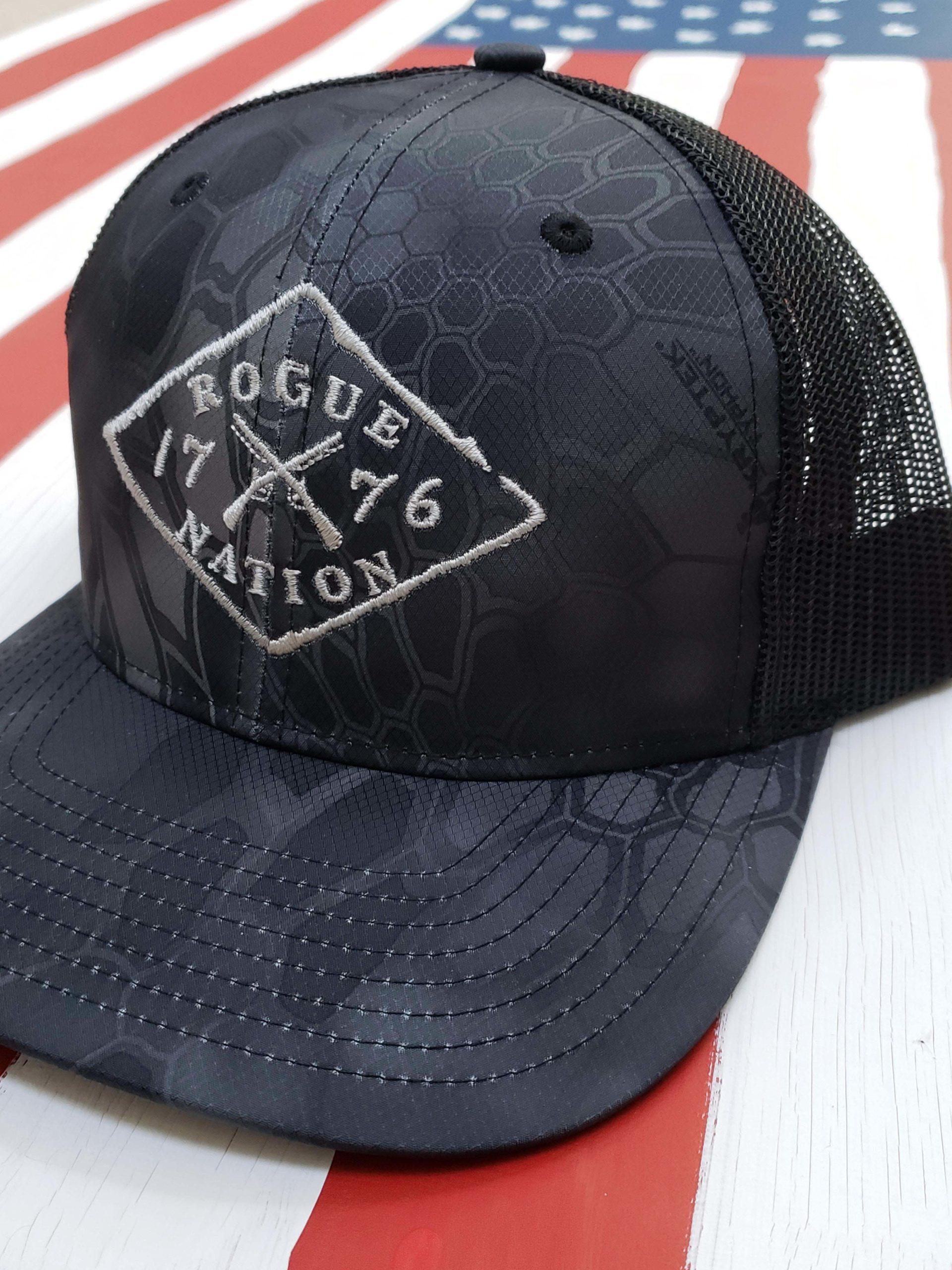 Richardson Kryptek Trucker Hat, Typhon