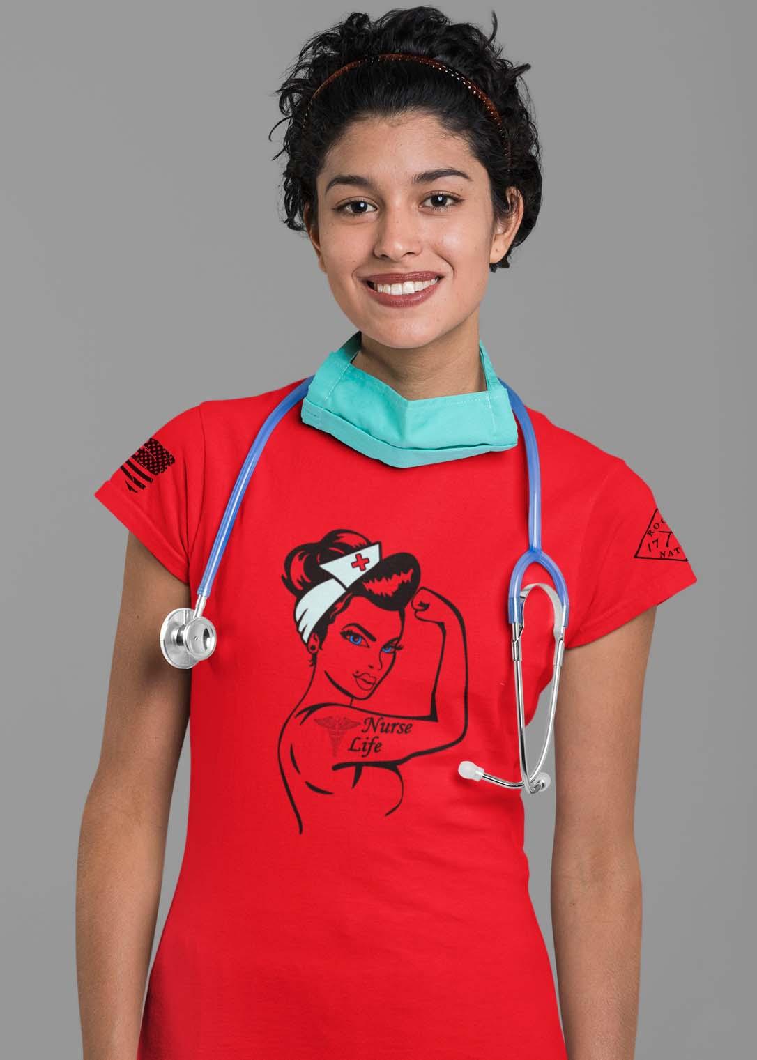 nurse life on women's red