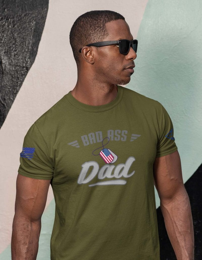 Bad Ass Dad Military on Army