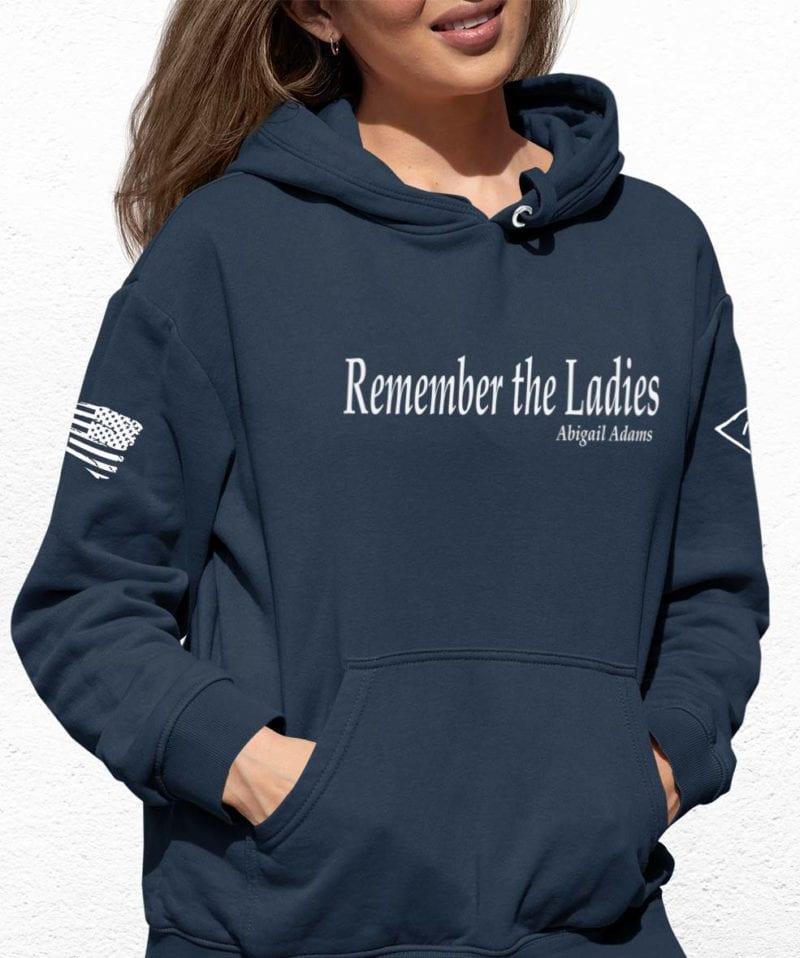 Remember the ladies in blue Slate hoodie