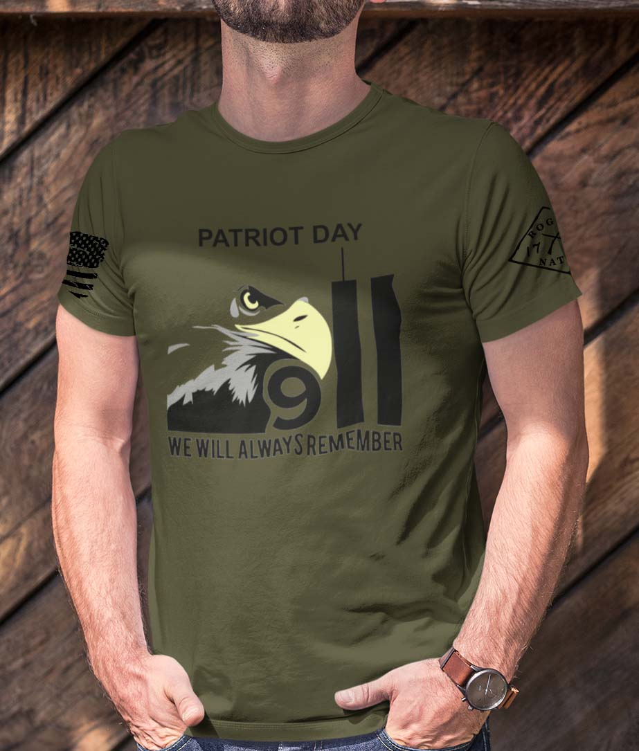 Patriot Day 2020 on Men's Army T-Shirt