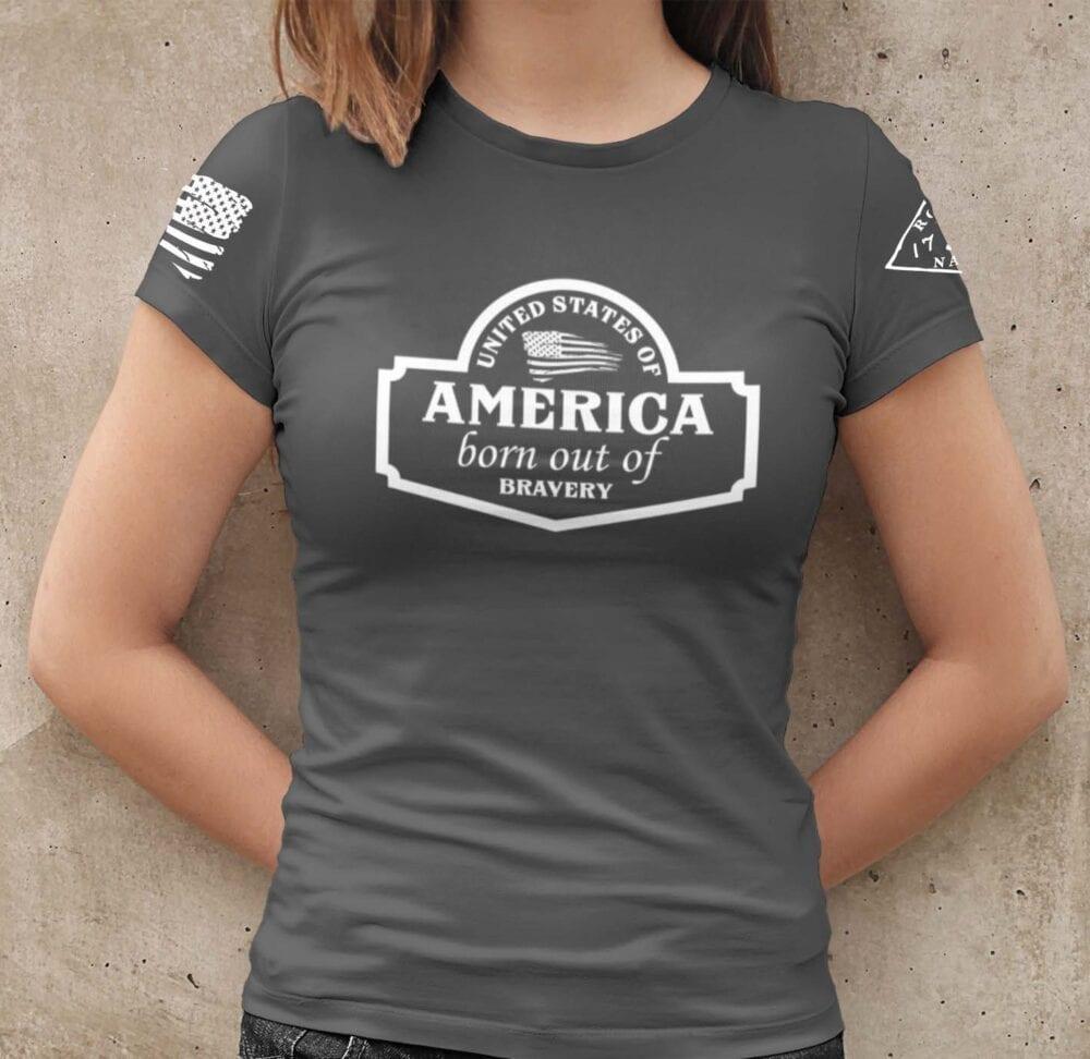 September Club Shirt on Charcoal Women's T-Shirt