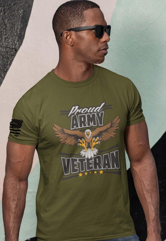 Army Veteran Shirt on Men's Army