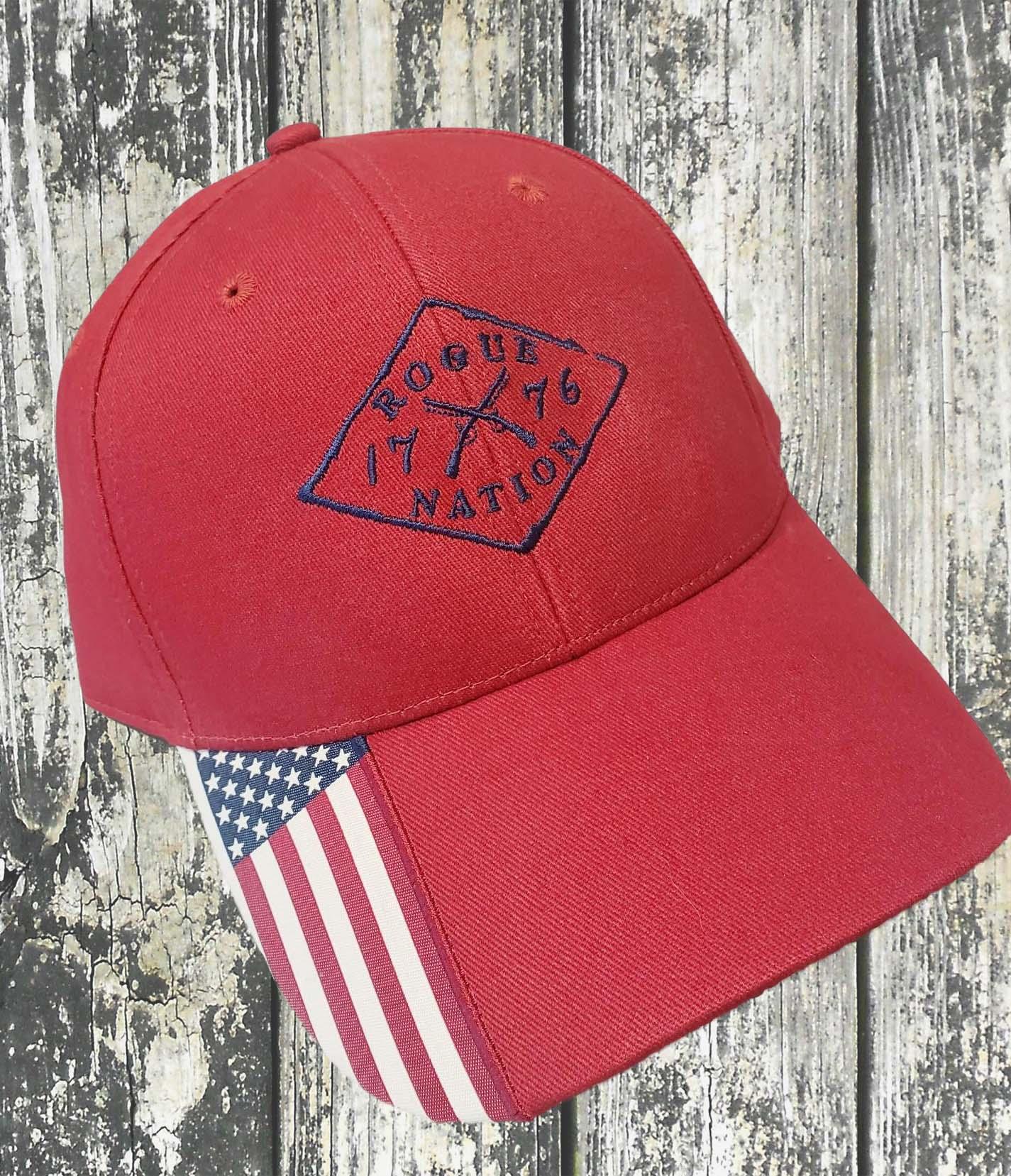 Outdoor Cap, American Flag