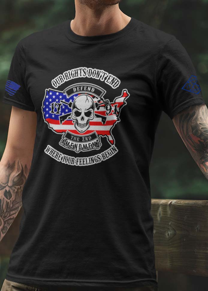 Our Rights Don't End T-Shirt